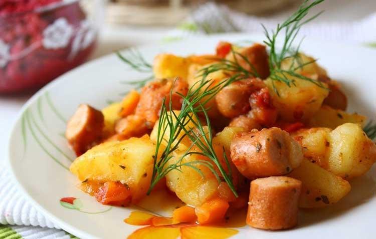 Солянка мясная сборная с картошкой пошаговый с фото