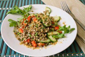 Чечевичный салат